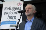 Jeremy Corbyn Addresses Refugee & Migrants Solidarity March