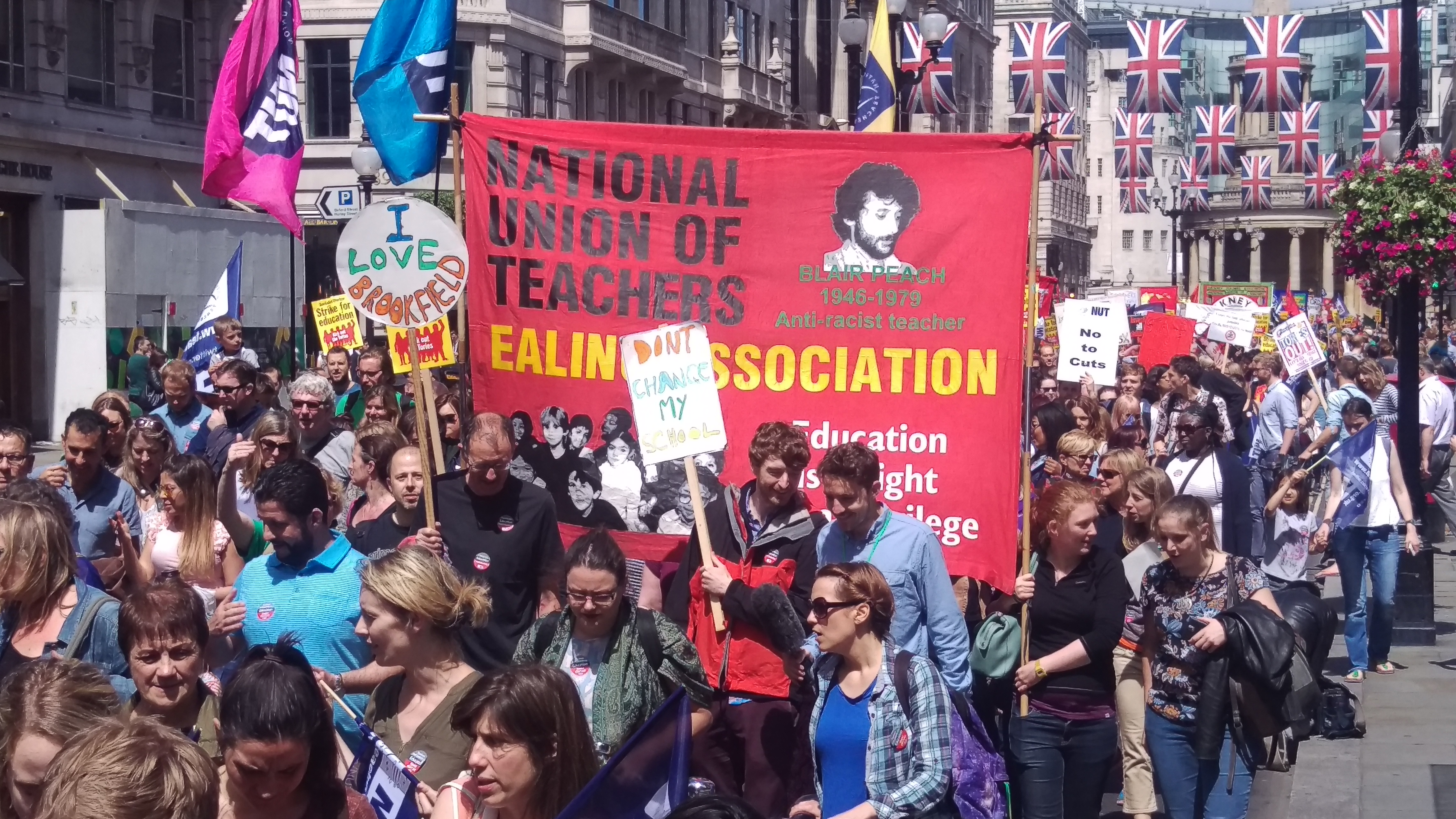 On the London march